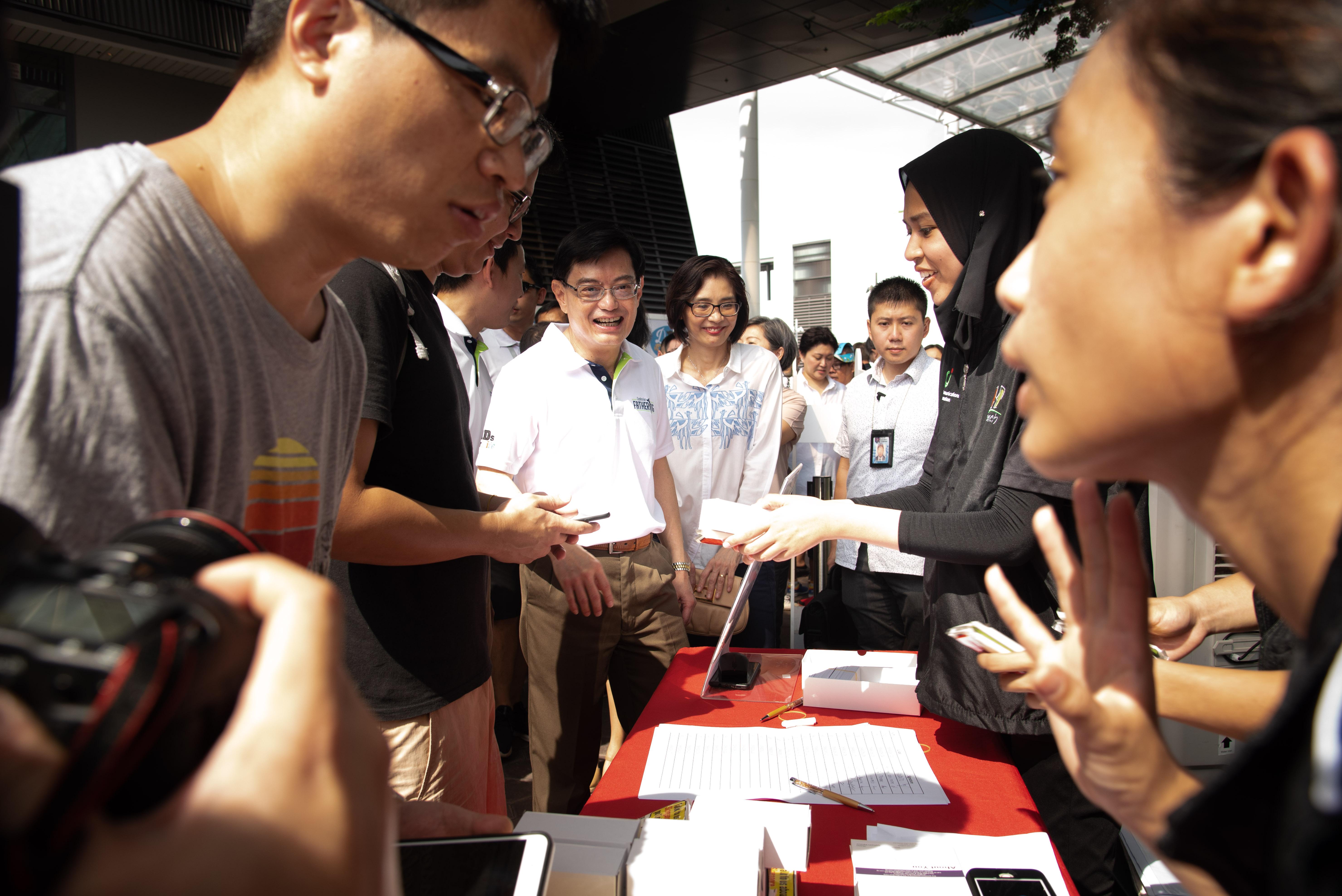 DPM Heng at REACH Listening Point